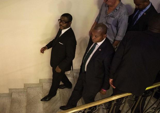 Teodorín Obiang, filho do ditador da Guiné Equatorial e um dos vice-presidentes  do país (Foto: Marlene Bergamo/Folhapress)