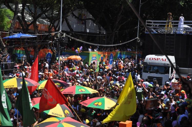 Desfile do Olodum - Jefferson Peixoto/ Prefeitura de Salvador