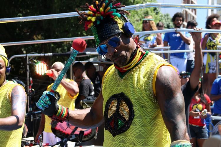 Desfile do  Olodum em Salvador - Jefferson Peixoto/ Prefeitura de Salvador